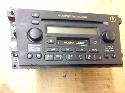 00 01 ACURA TL 6 COMPACT DISC CHANGER AM FM RADIO BOSE CASSETTE TAPE PLAYER