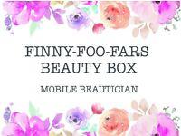 Finny-Foo-Fars -Mobile Beauty Box (Manicures, Nails, Pedicures & Facials)