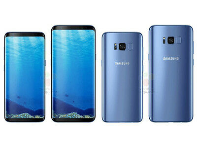 Samsung Galaxy S8+ (64GB) / Coral Blue / LTE Smart phone / SM-G955/Single SIM