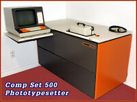 PHOTOTYPESETTING MACHINE for sale.
