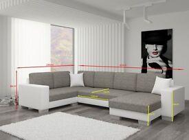 """A brand NEW and BIG """"U-shape"""" corner sofa 303x206cm"""
