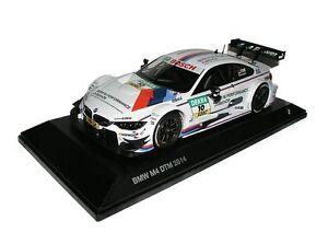 ORIGINALE-BMW-M4-F82-DTM-2014-Miniatura-Modellino-Auto-Scala-1-43-Bianco