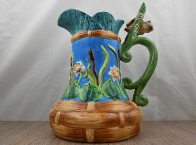 House of Hatten Lord of the Pond Pitcher Peggy Fairfax Herrick frog lily pad