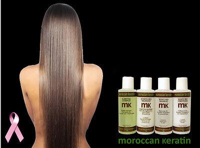 Brazilian keratin hair Treatment  professional kit proven formula 120ml x4