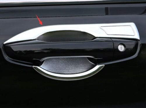 Chrome Door Bowl Cup Cover Overlay Trims For Honda CRV 2017-2019 Accessories