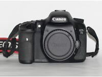 Boxed Canon 7D with only 15k Shutter Count