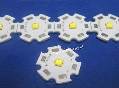 Cree Xte Xt-e Neutral White Led 20mm Star Base 1w 3w 5w Led 10pcs