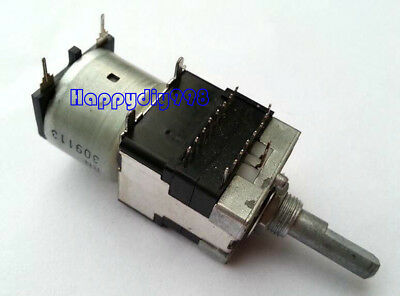 1pc Alps Rk168 100k Potentiometer Rotary Motor-driven Quad Metal Shaft Remote