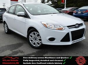2013 Ford Focus SE Low Mileage, Bluetooth, USB !!!