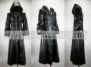 Kingdom Hearts Organization XIII Mantel Cosplay Kostüm Gothic Lolita Costume