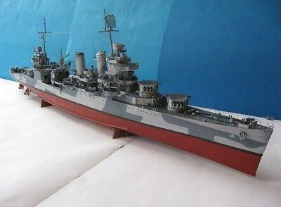 Modelik 01/09 -  USS SAN FRANCISCO   1:200  mit Lasercutteilen