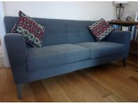 Shoreditch 3 Seater Scandi Style Sofa, less than 6 months old, in excellent condition