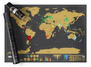 Scratch Map - deluxe edition - Brand New in packaging Karrinyup Stirling Area Preview