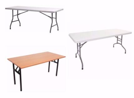 Trestle Tables - from $110 Melbourne CBD Melbourne City Preview