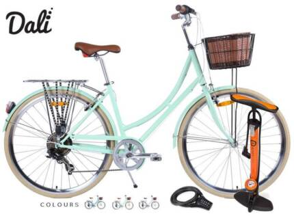 Ladies 7 Sp. 'Dali' Basket, LEDs, Toolkit, Pump, Lock & Delivery Adelaide CBD Adelaide City Preview