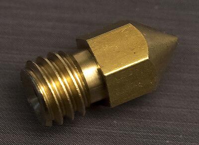 0.3mm Extruder Nozzle Print Head Makerbot Craftbot Mk8 3d Printer Hot End Gsp