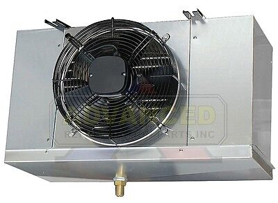 Low Profile Walk-in Cooler Evaporator Single Fan Blower 5200 Btu 700 Cfm 220v