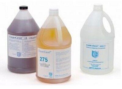 Crest 4 Gallon Chem Crest 75a Ultrasonic Multipurpose Fluid Cleaning Solution