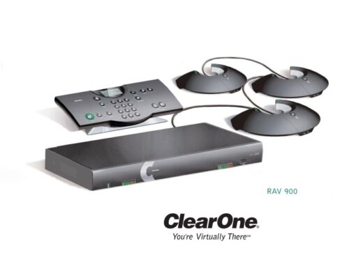 ClearOne RAV 900 Wireless conference system - Used - Tested Working