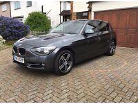 2013 BMW 1 SERIES 2.0 120d Sport Sports Hatch 5dr