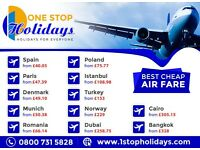 Cheap Air Tickets Spain from £40.05 (subject to availability)