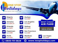 Cheap Flights to Africa !! Christmas Offers !! BOOK NOW