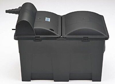 Oase BioSmart 16000 UVC  Teichfilter Set mit UVC-Klärer & 3 Liter Sticks GRATIS