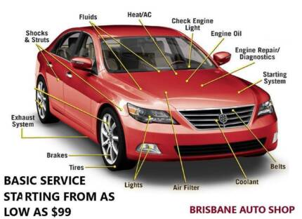 Basic Car Services- AS LOW AS $99