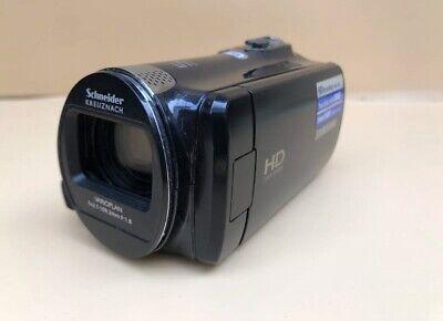 DT Samsung camcorder 52X optical zoom HD CMOS sensor HMX-F80 Schneider lens