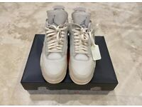 Nike air Jordan 4 off white uk 10