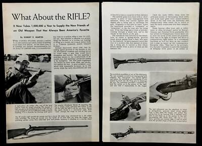 Rifle History 1941 pictorial Winchester -
