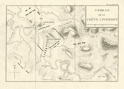 HAITIAN REVOLUTION. Battle of Crête-à-Pierrot 1802. Saint-Domingue 1821 map