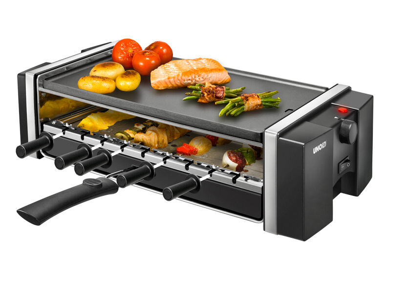 Unold Elektrogrill Test : Unold raclette grill kebab ebay