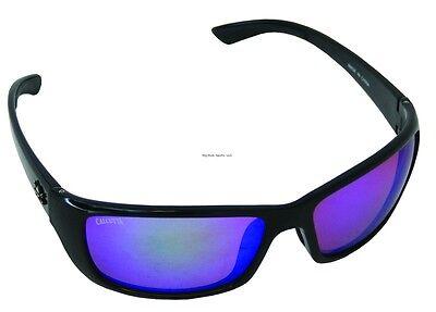 New Polarized Calcutta Bimini Sunglasses Black Frame/Green Mirror Lens 64 (Calcutta Bimini Sunglasses)
