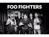 2 x Seated tickets for Foo Fighters Saturday 23/6 Elizabeth Stadium London