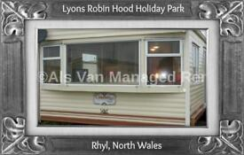 FIELDS: LYONS ROBIN HOOD, RHYL, NORTH WALES: SLEEPS 7 MAX, NO PETS