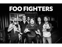 2x Foo Fighters Tickets Standing Sat 23rd
