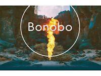 Bonobo 1st June Alexandra Palace - x2 Standing Tickets
