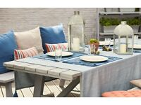 Rural wooden 8 Seater Garden Table RRP £159