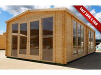 LOG CABIN FREE DELIVERY
