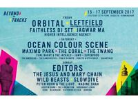 beyond the tracks weekend tickets x 2