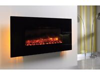 Electric Fireplace - Eco Wall Mounted Glass fronted