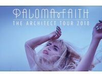 Paloma Faith Block A Tickets for Birmingham Genting Arena 21 March