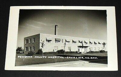 Rppc   Pembina County Hospital  Cavalier  North Dakota Vintage Postcard