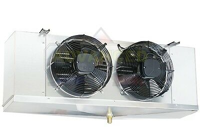 Low Profile Walk-in Freezer Evaporator Blower 2 Fans 8000 Btu 208-230v
