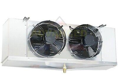 Low Profile Walk-in Cooler Evaporator 2 Fans Blower 7500 Btu 1460 Cfm 115v