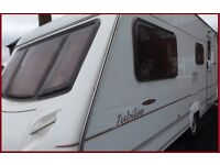 2003 Swift Ace 4 Berth Luxury Touring Caravan Abbey Sterling Group REDUCED
