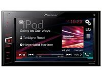 Pioneer MVH-AV280BT Double Din Bluetooth Car Stereo
