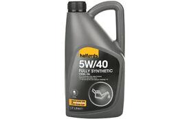 Halfords 5W/40 Fully synthetic Diesel oil