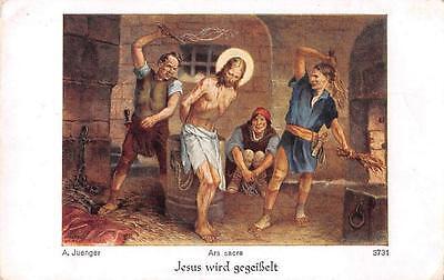 """Fleißbildchen Heiligenbild Gebetbild Juenger Holy card Ars sacra"""" H1088"""""""